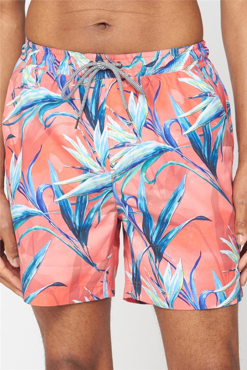 Bird of Paradise Printed Swimshort