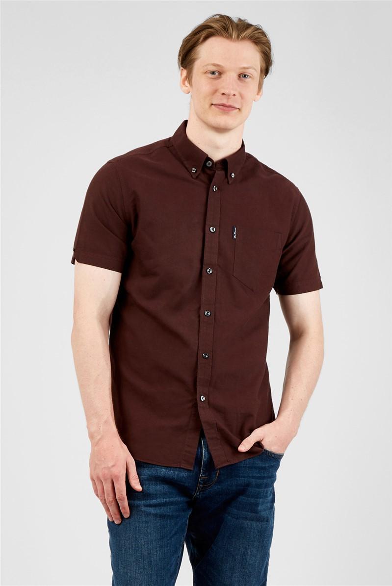 Bordeaux Organic Cotton Oxford Shirt