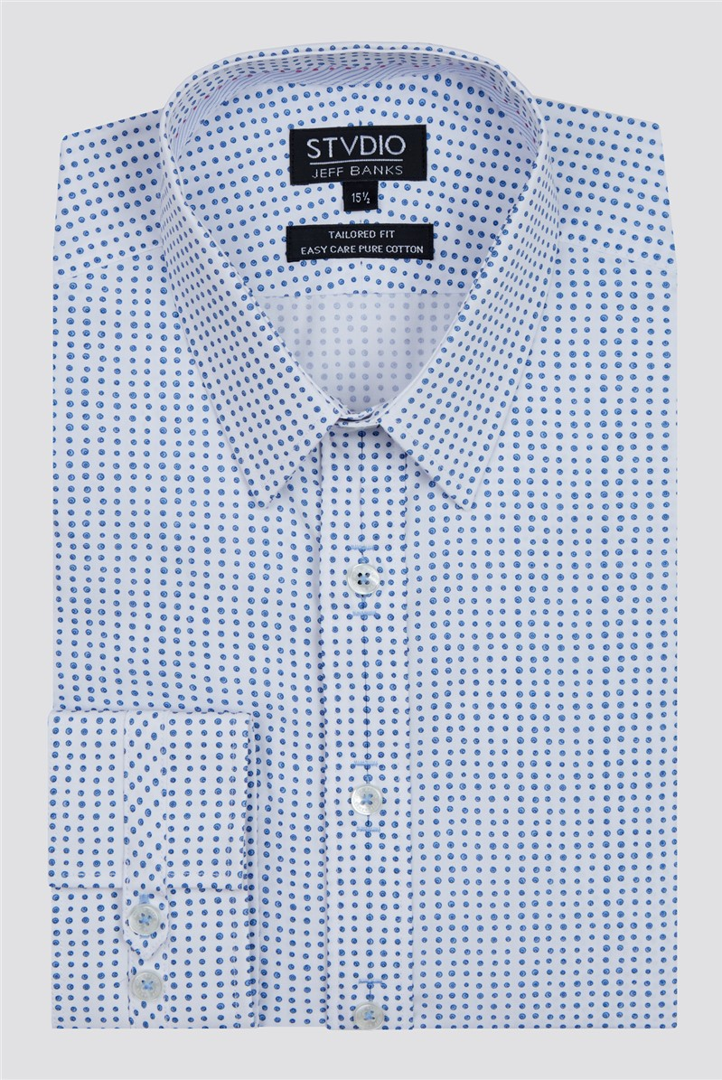 Stvdio Swirl Print Formal Shirt