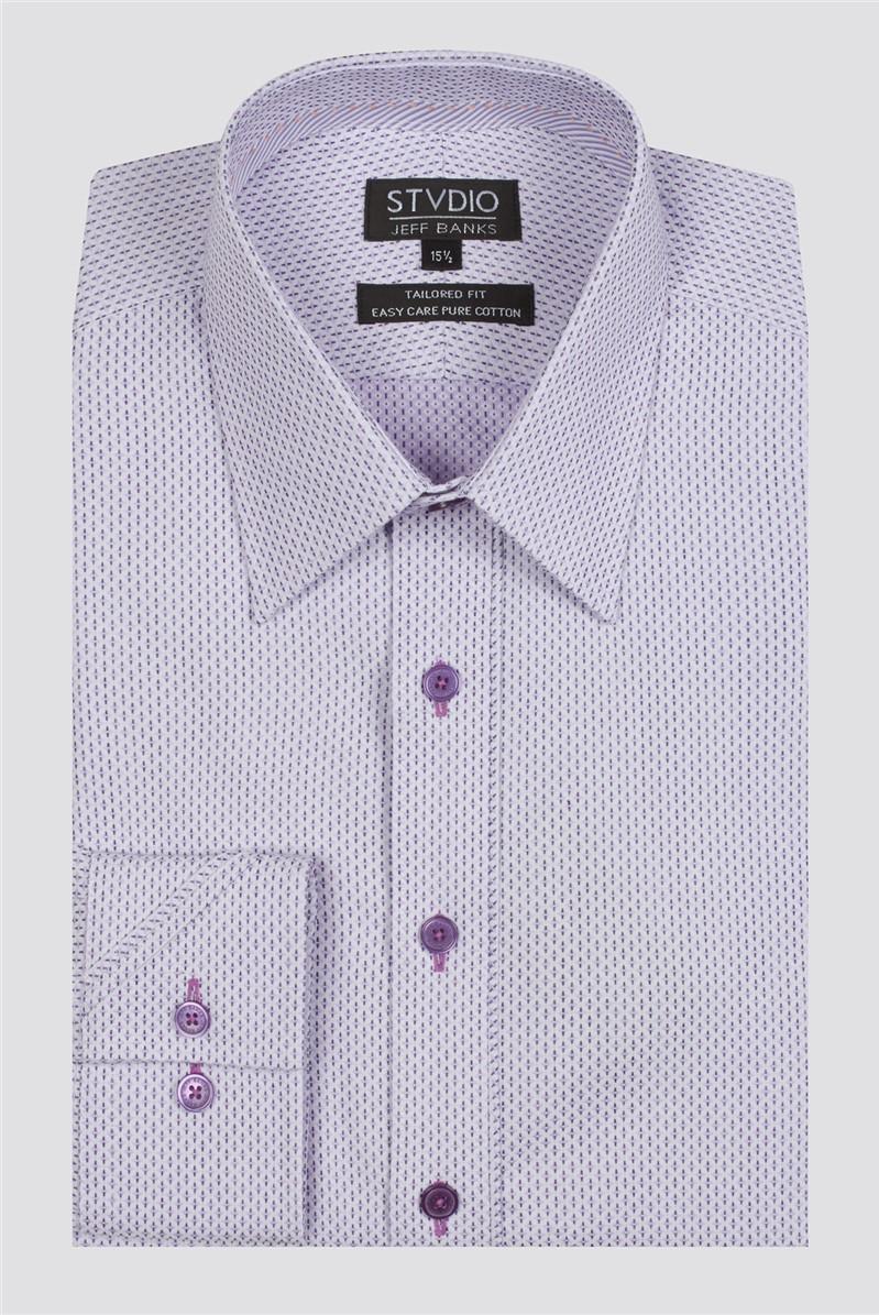 Stvdio Geo Dobby Formal Shirt