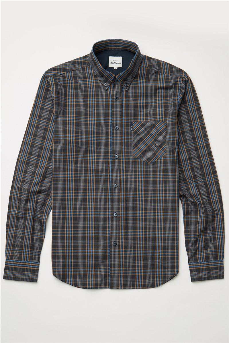 Midnight Heritage Checked Shirt