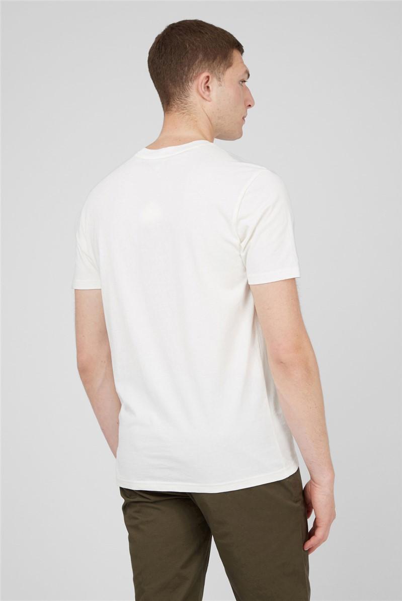 Ivory Retro Type T-Shirt