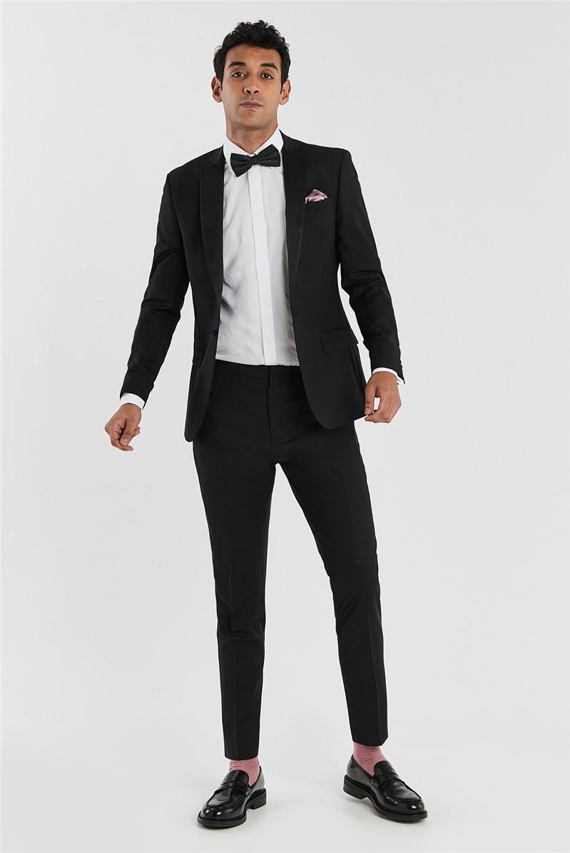 Black Slim Fit Tuxedo