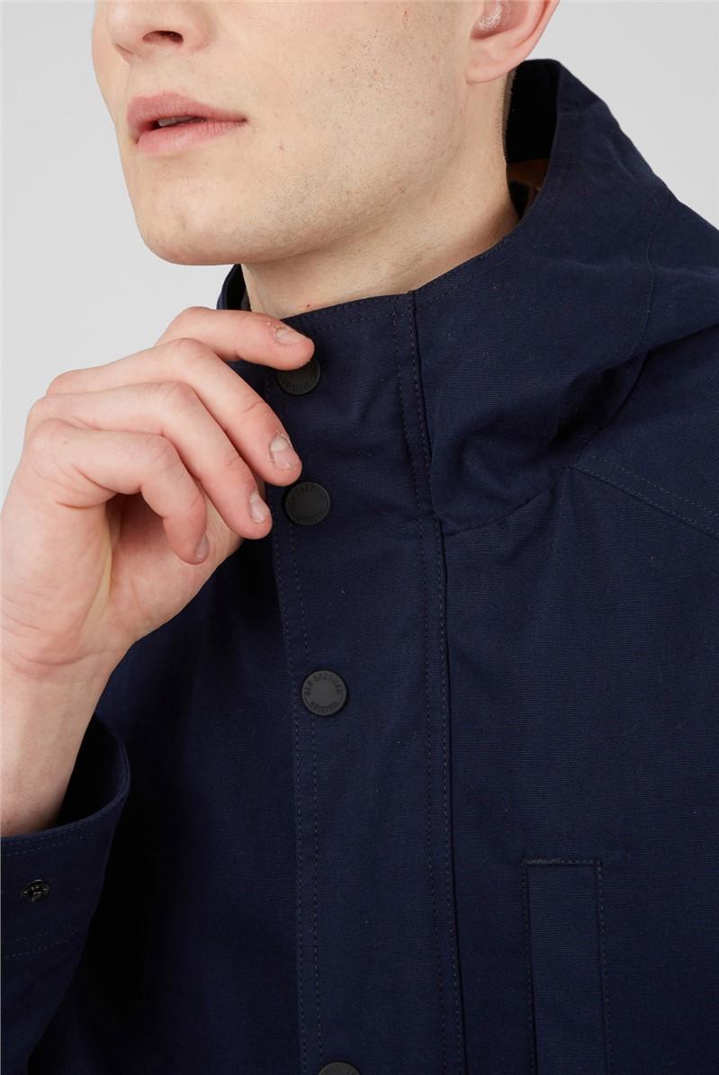 Marine Hooded Anorak Jacket