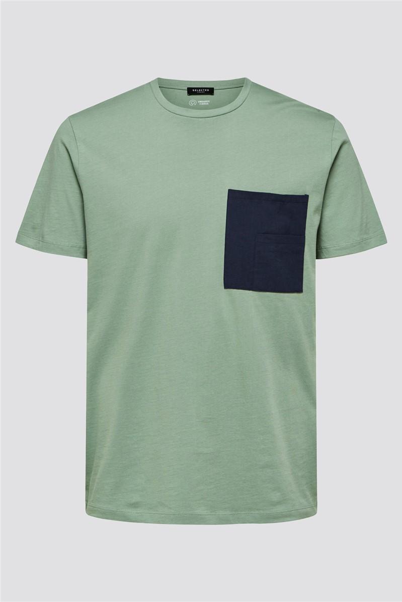 Goodwin Pocket T-Shirt in Green