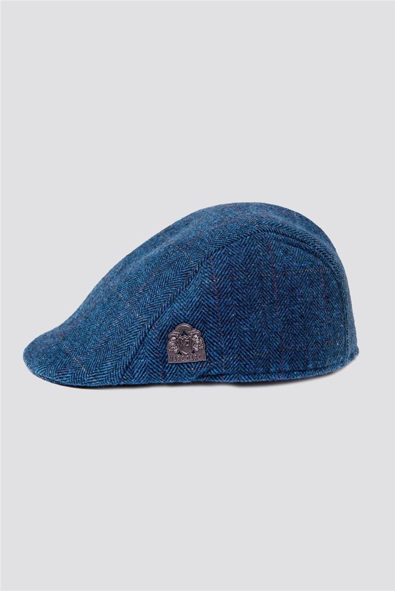 Dion Blue Flat Cap