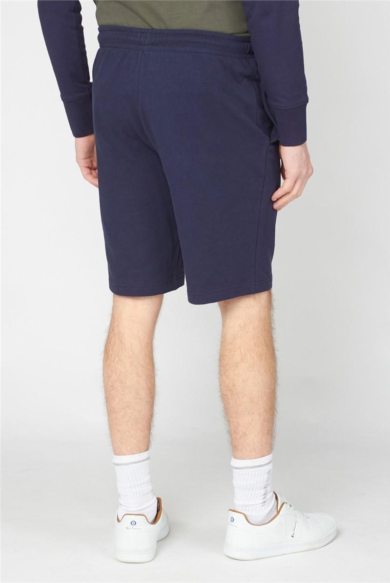 Dark Navy Logo Sweat Shorts