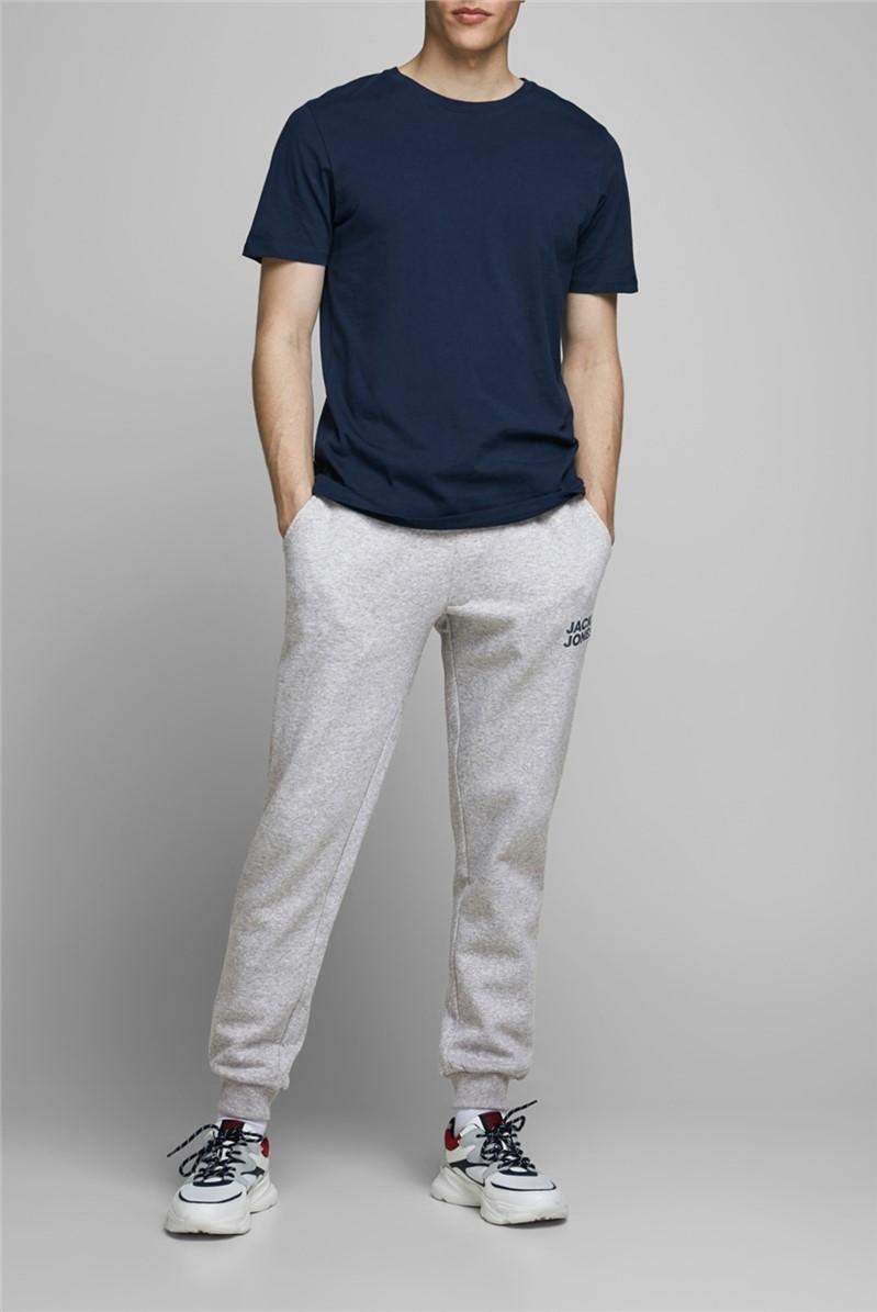 JACK & JONES Grey Logo Sweat Pants