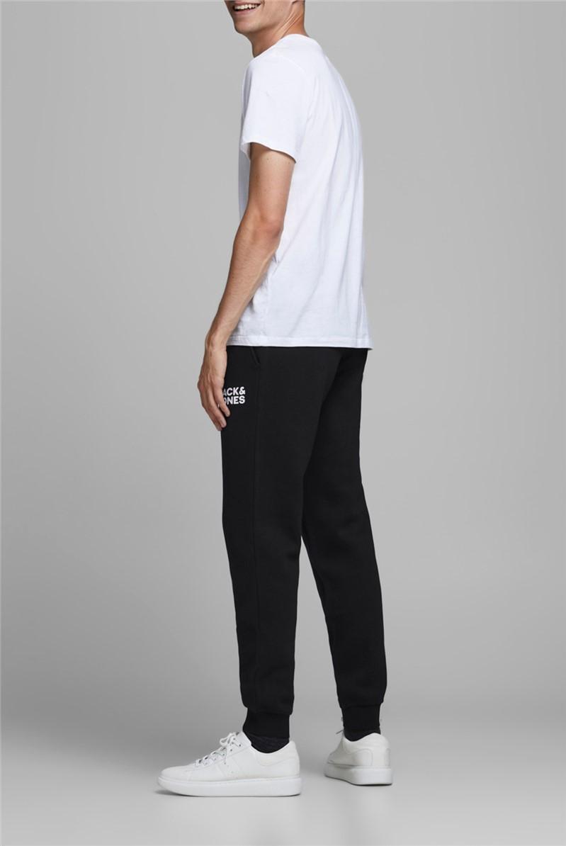 JACK & JONES Black Logo Sweat Pants