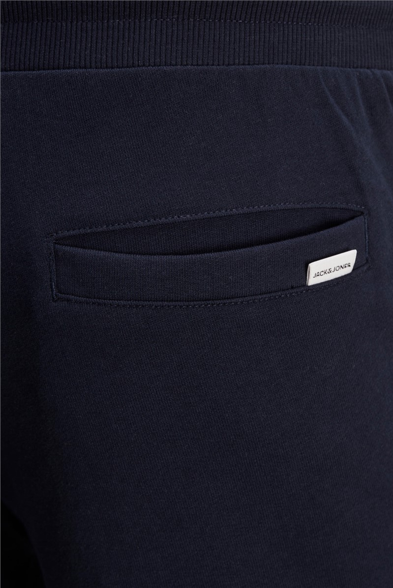 JACK & JONES Navy Logo Sweat Pants