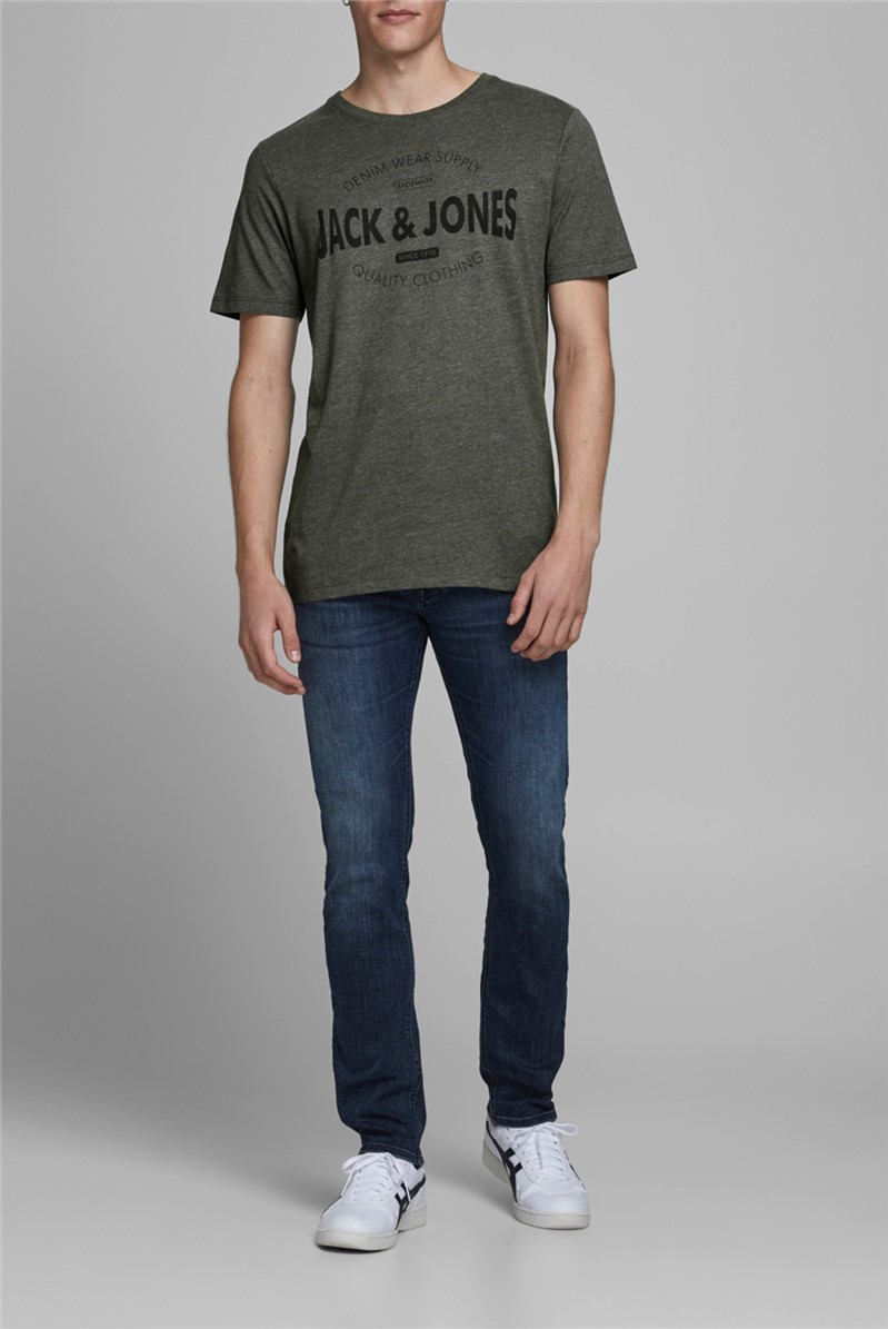 JACK & JONES Green Graphic T-Shirt