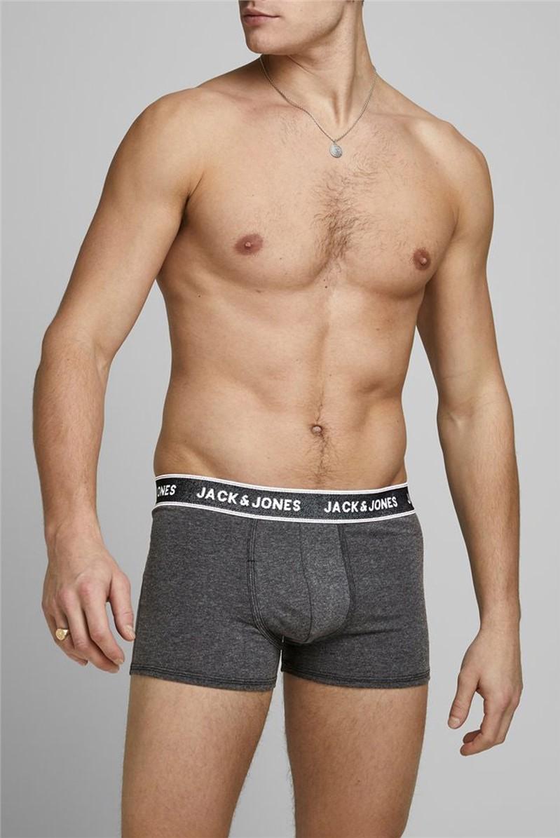 JACK & JONES 3 Pack Denim Boxer Shorts