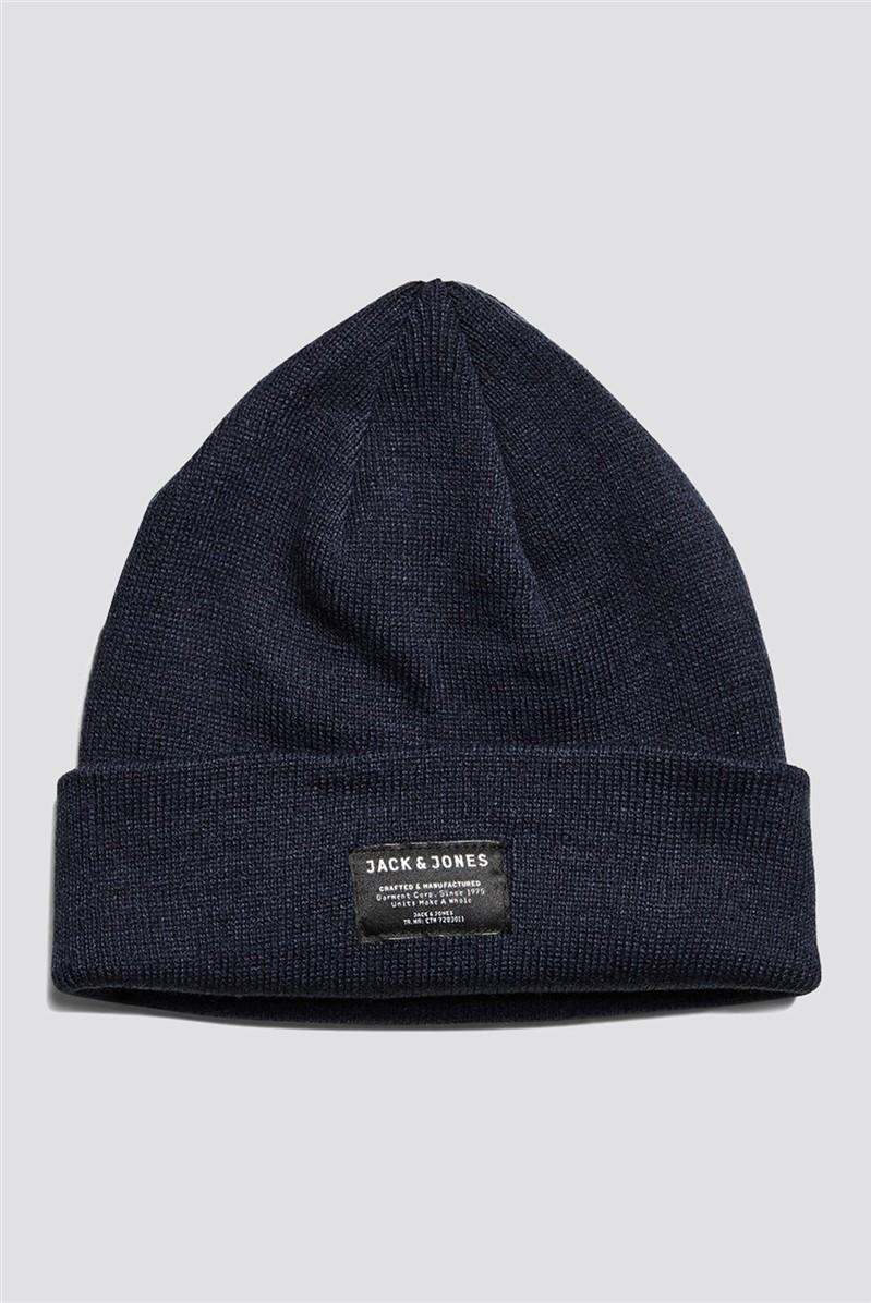 JACK & JONES Grey Beanie Hat