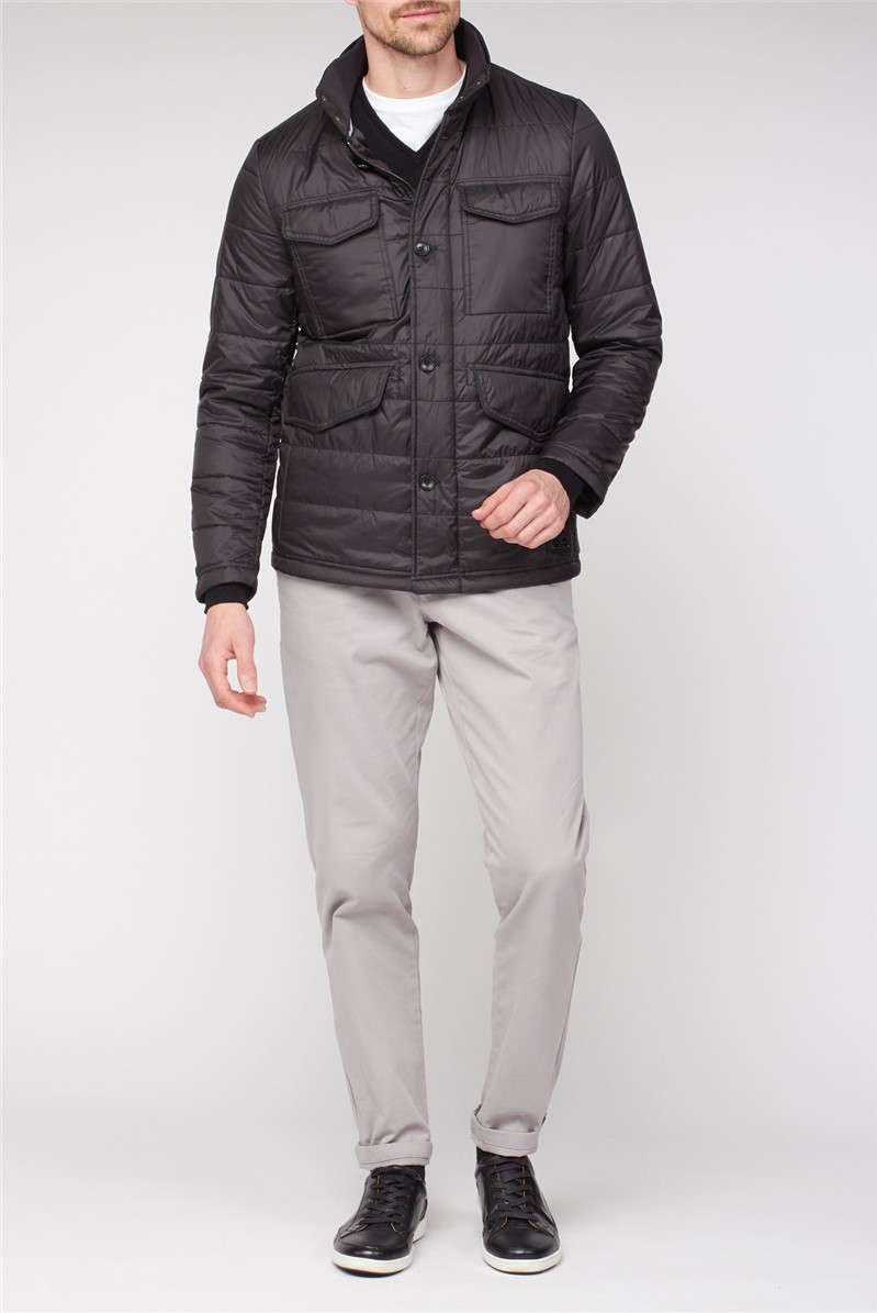 Four Pocket Quilted Jacket