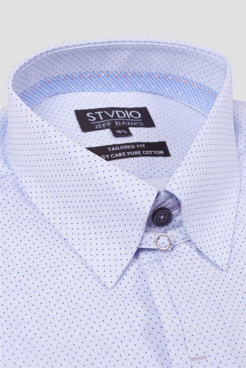 Stvdio Semi Plain Spot Print Shirt