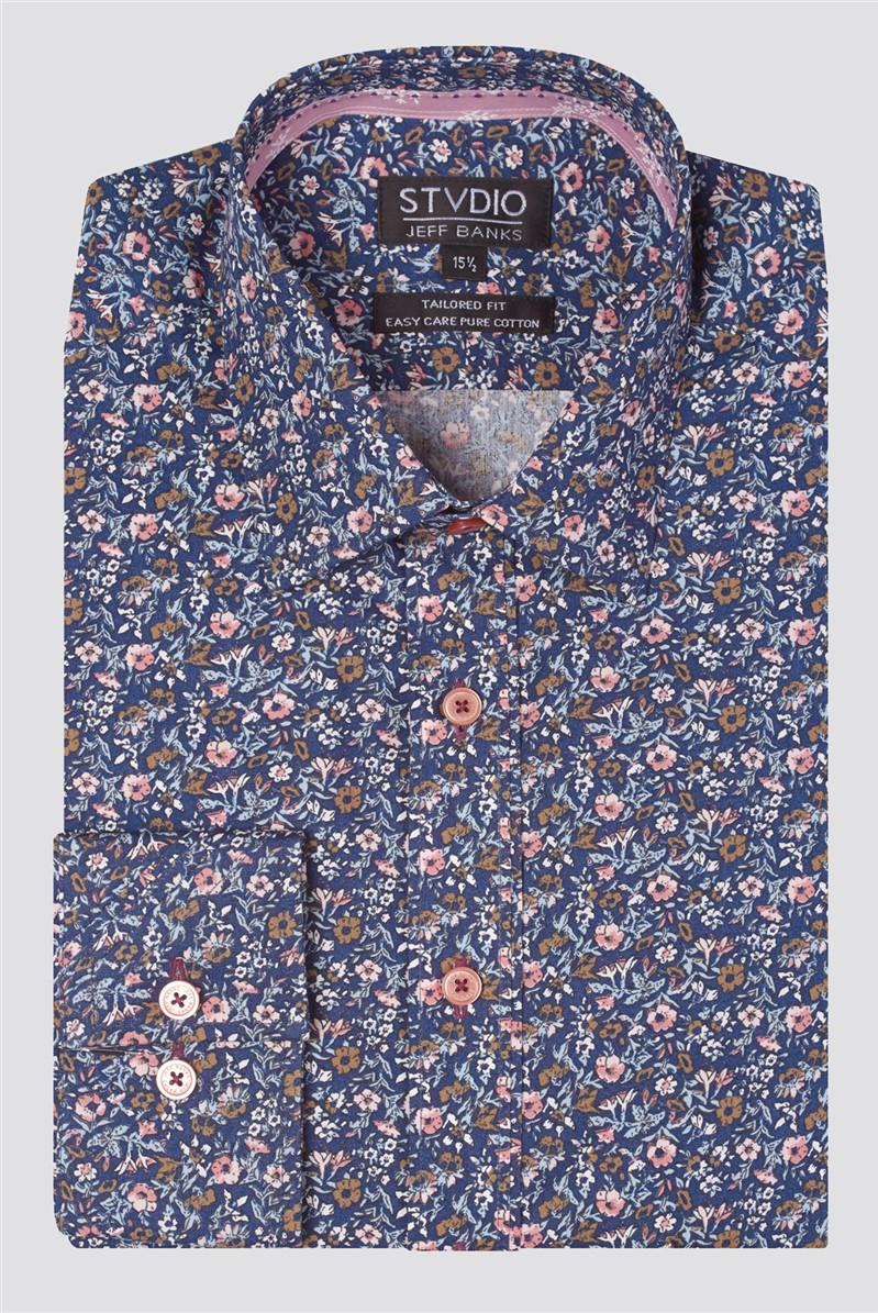 Stvdio Multi Floral Print Shirt
