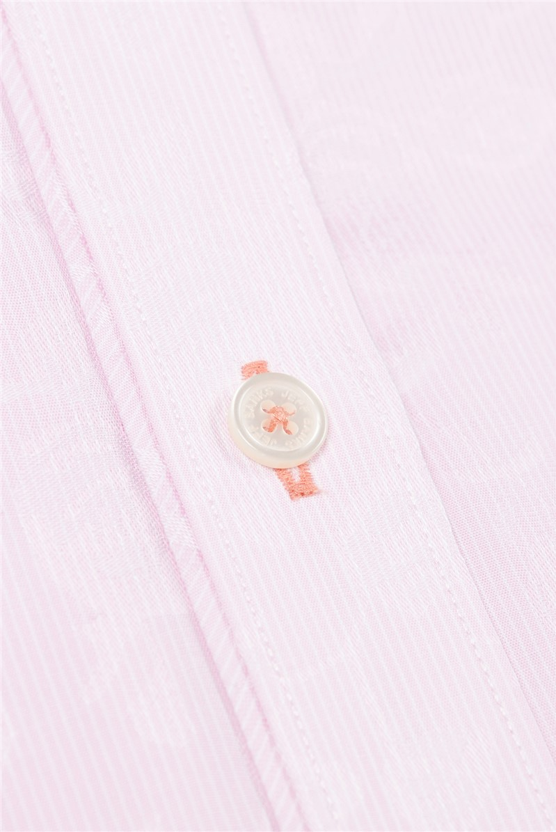 Stvdio Long Sleeve Floral Dobby Shirt