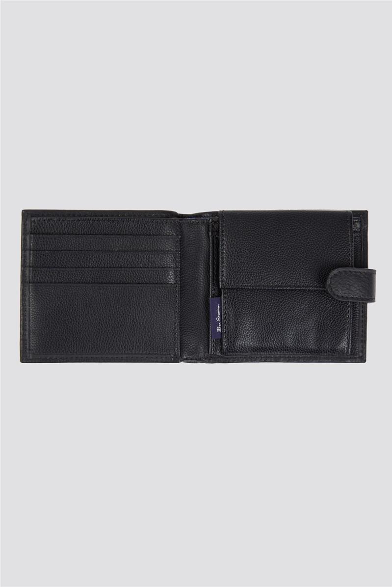 Absolom Coin Bifold Wallet - Black