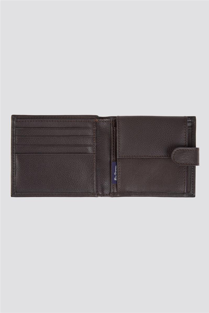 Absolom Coin Bifold Wallet - Brown