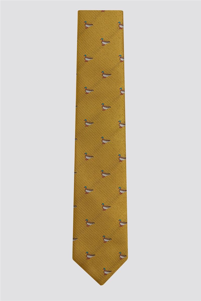 Gold Duck Tie