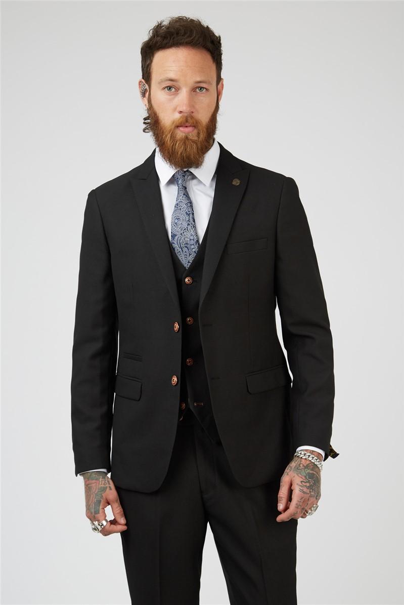 Max Black Suit