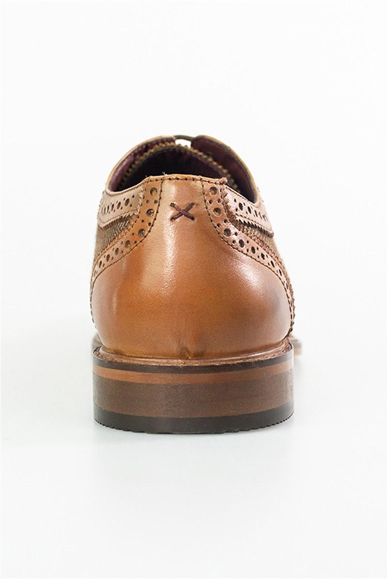Tan Coltrane Brogue Shoes