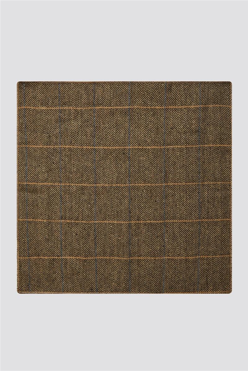 Albert Brown Bow Tie And Handkerchief