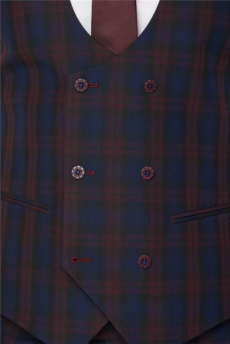 Red Tartan Waistcoat