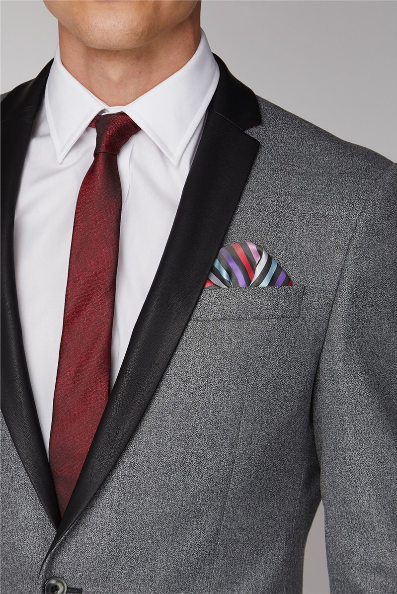 Grey Plain Suit Jacket