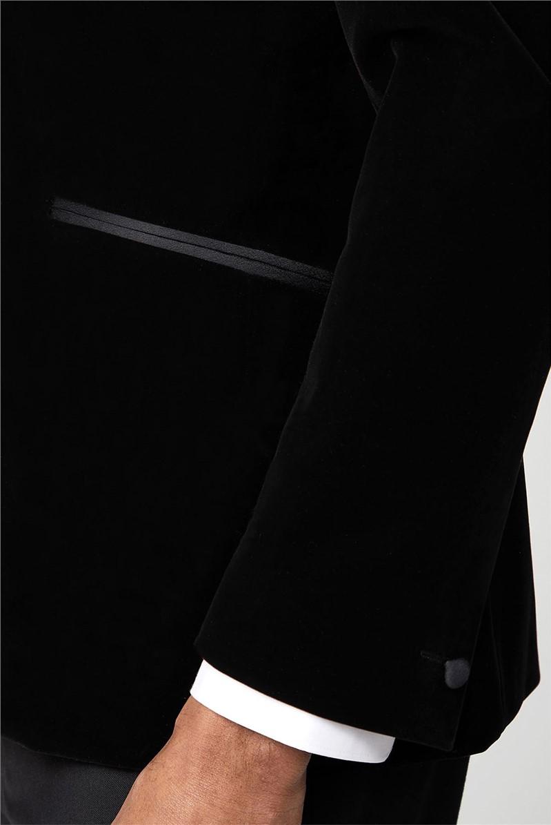 Black Velvet Dresswear Jacket
