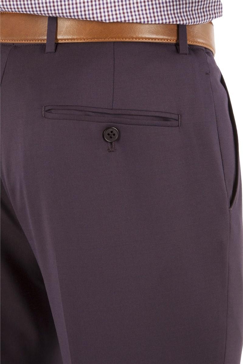 Plum Tonic Kings Fit Suit Trouser