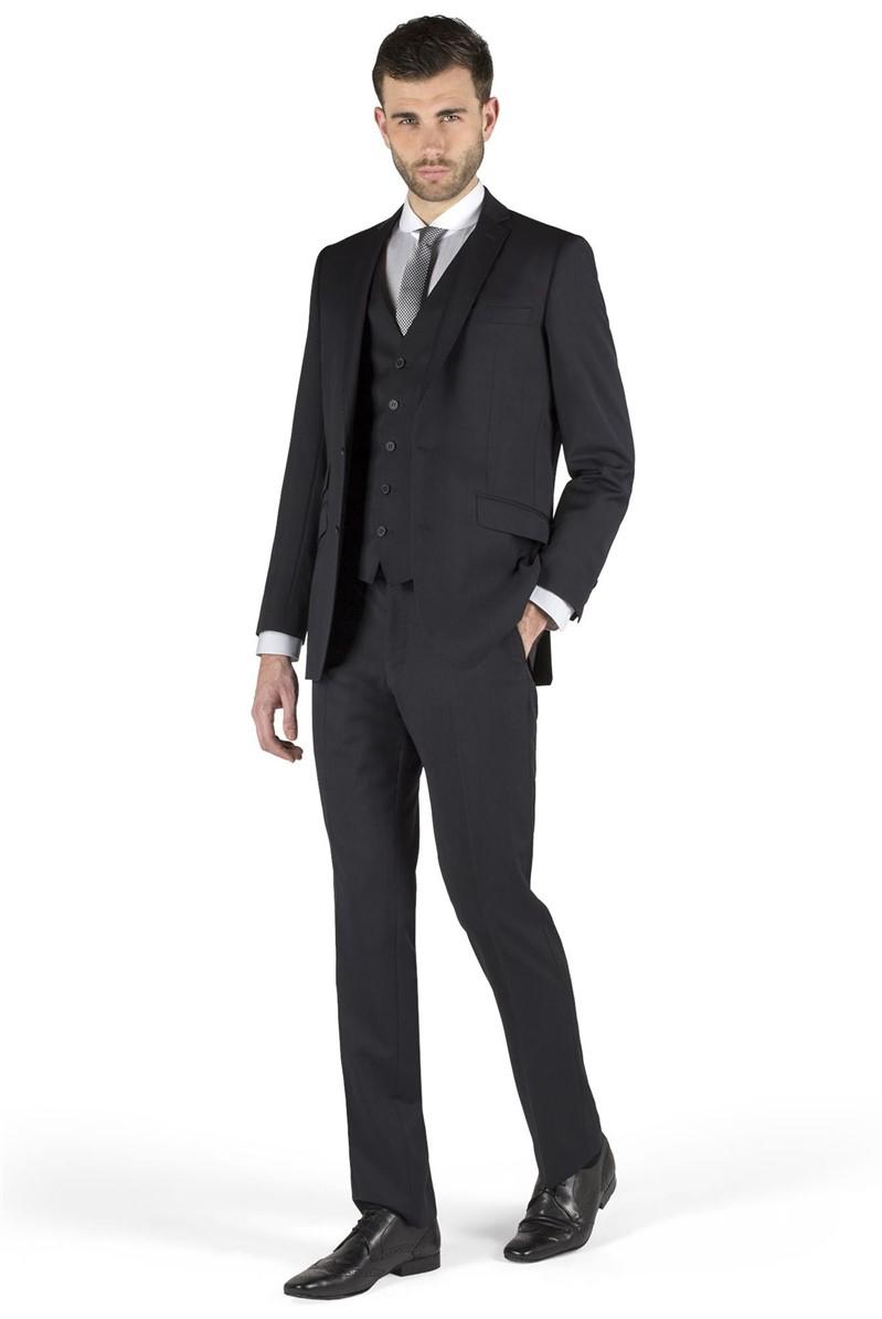 Navy Plain Kings Fit Suit