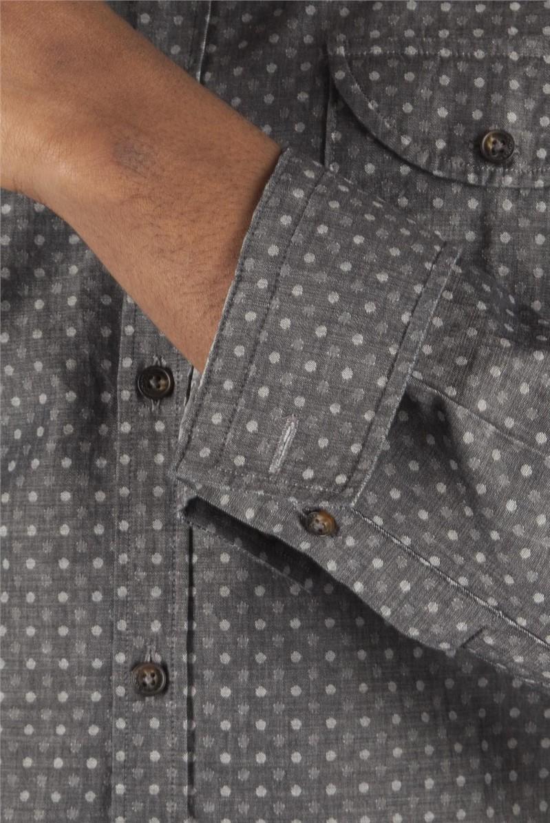 Charcoal Spot Shirt