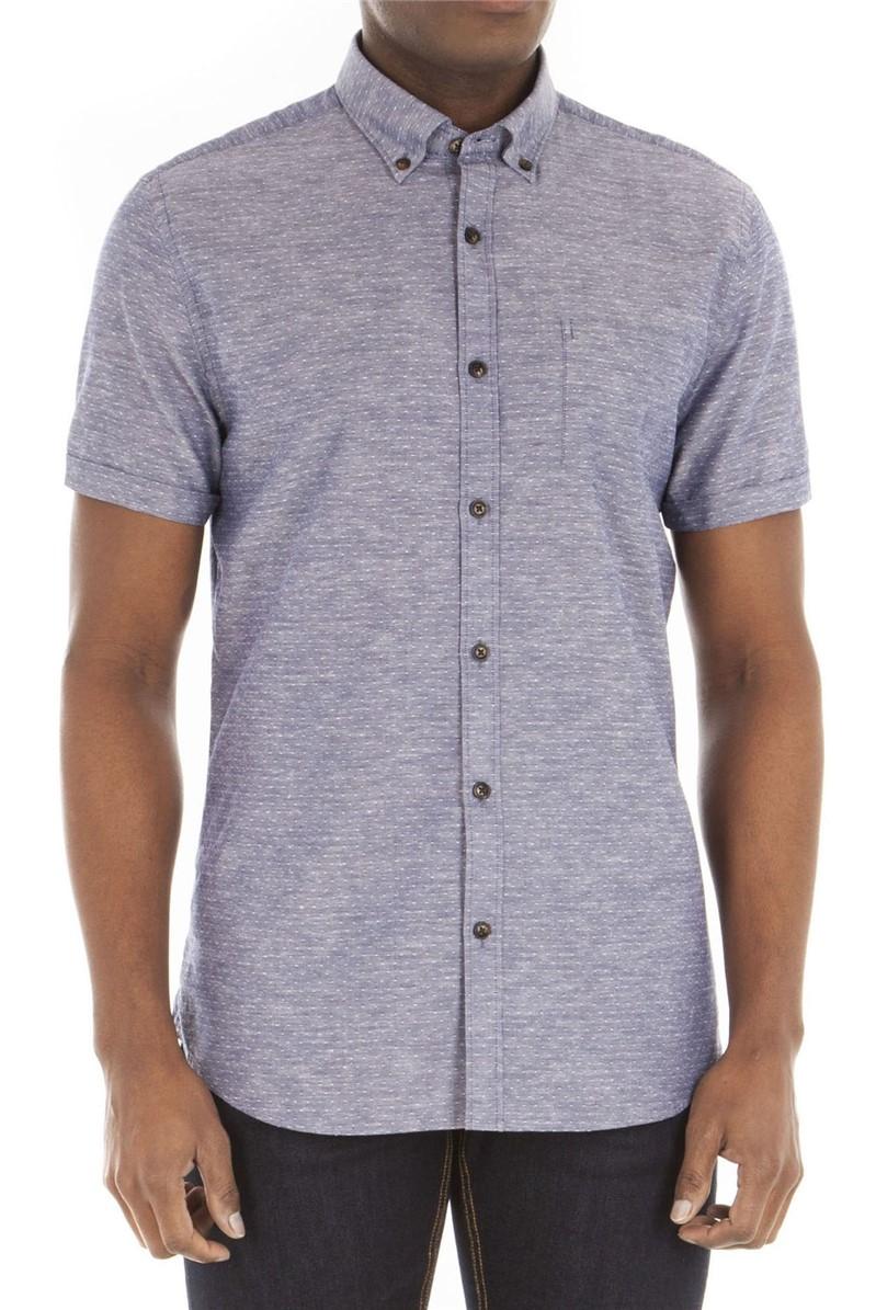 Navy Spot Shirt