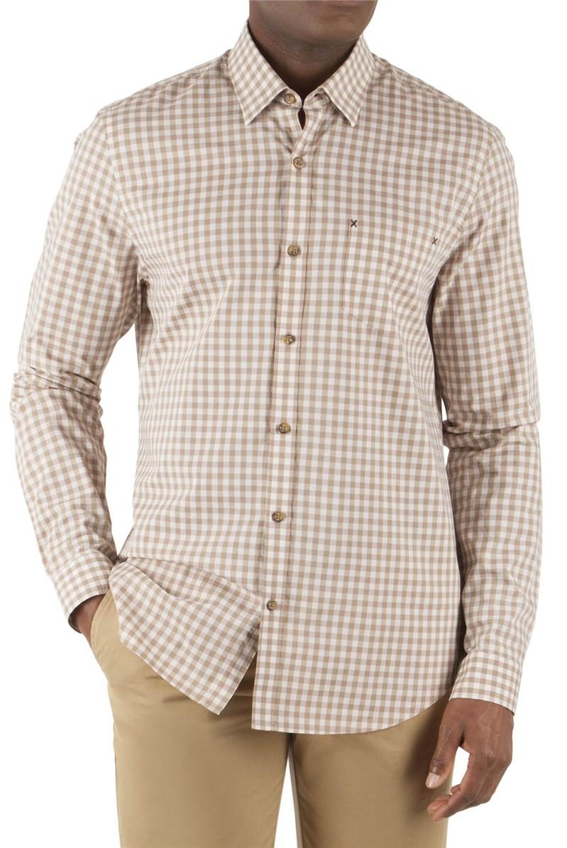 Fawn Gingham Long Sleeve Shirt