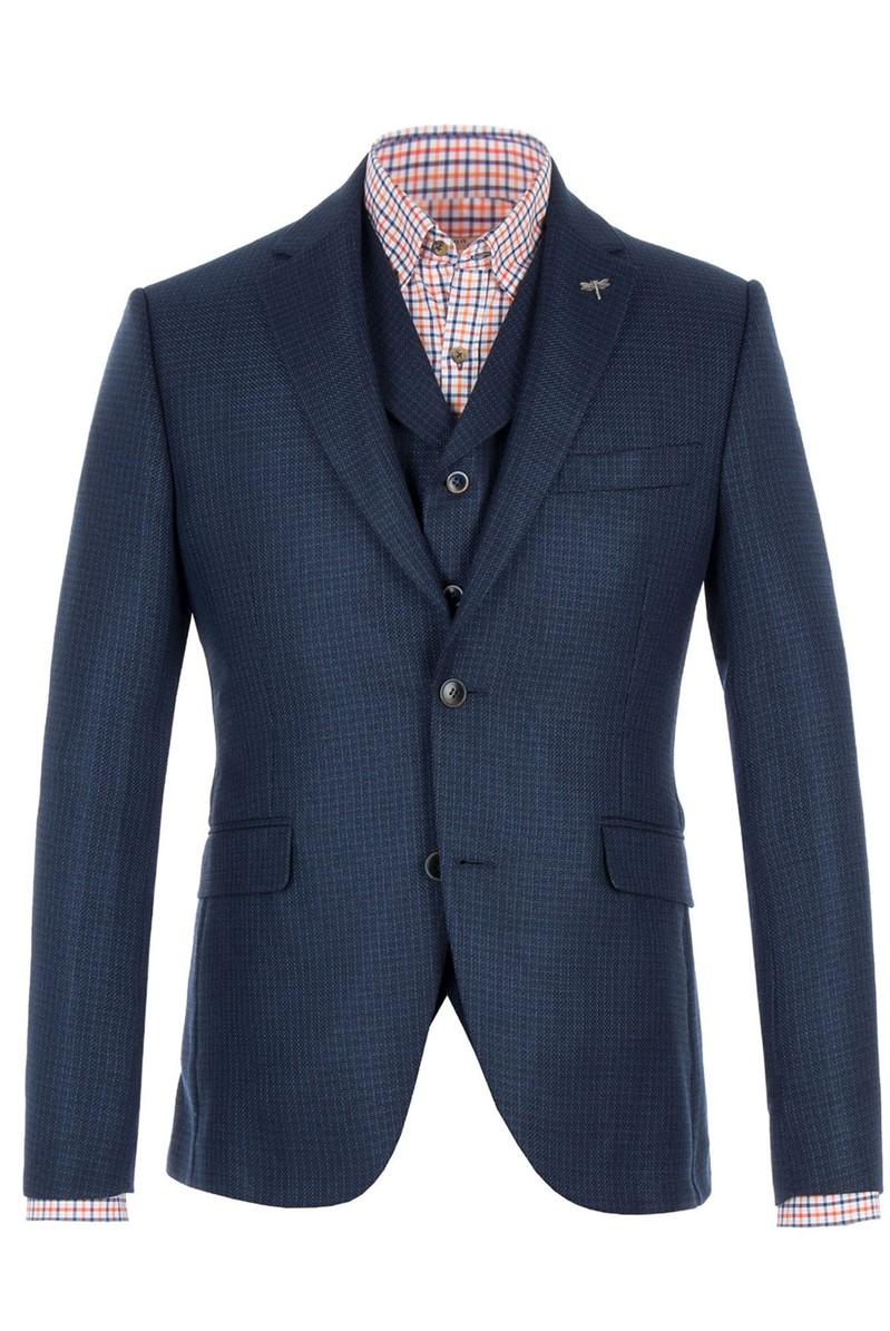 Gibson London Blue Basket Weave Jacket