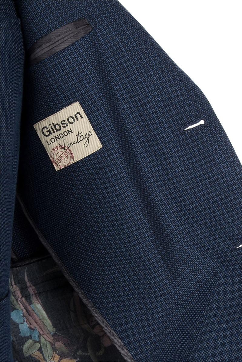Blue Basket Weave Jacket