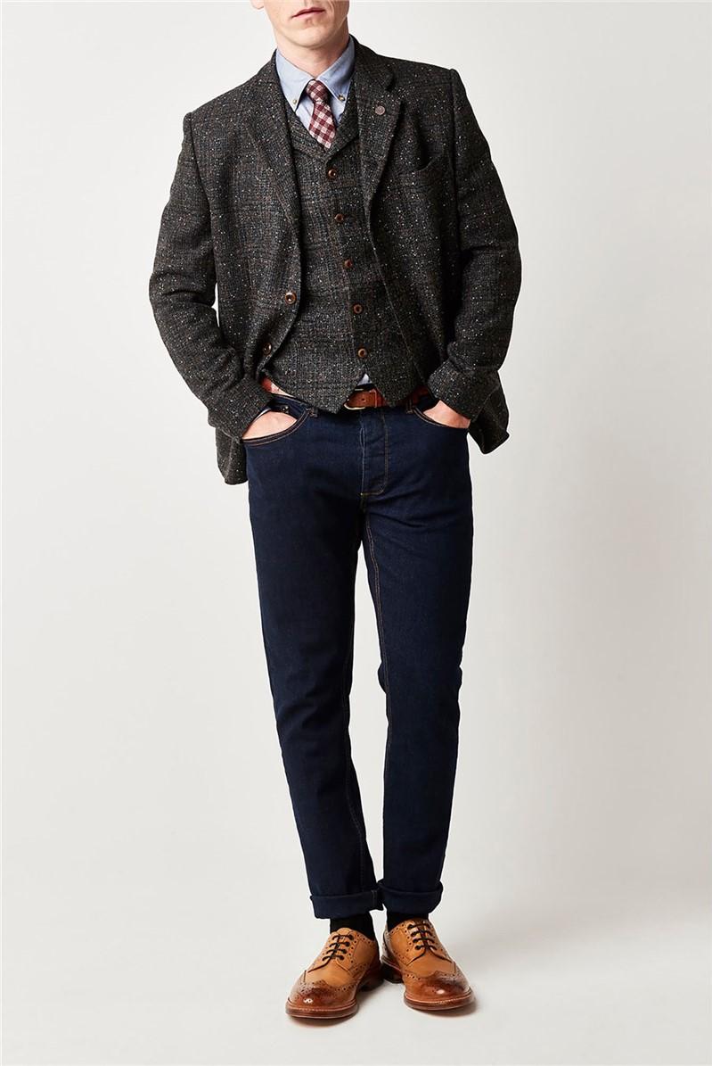 Charcoal Check Jacket