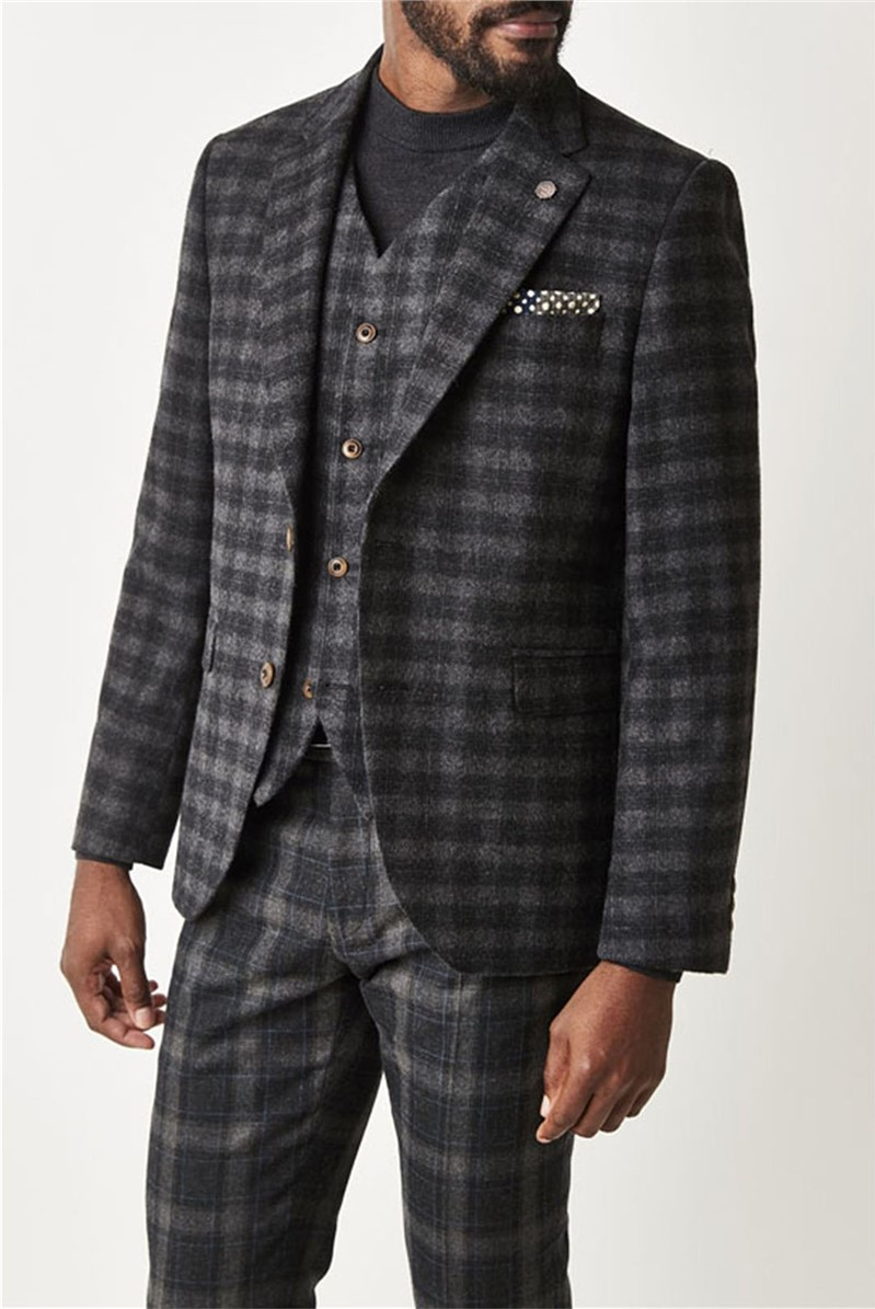 Gibson London Charcoal Check Jacket