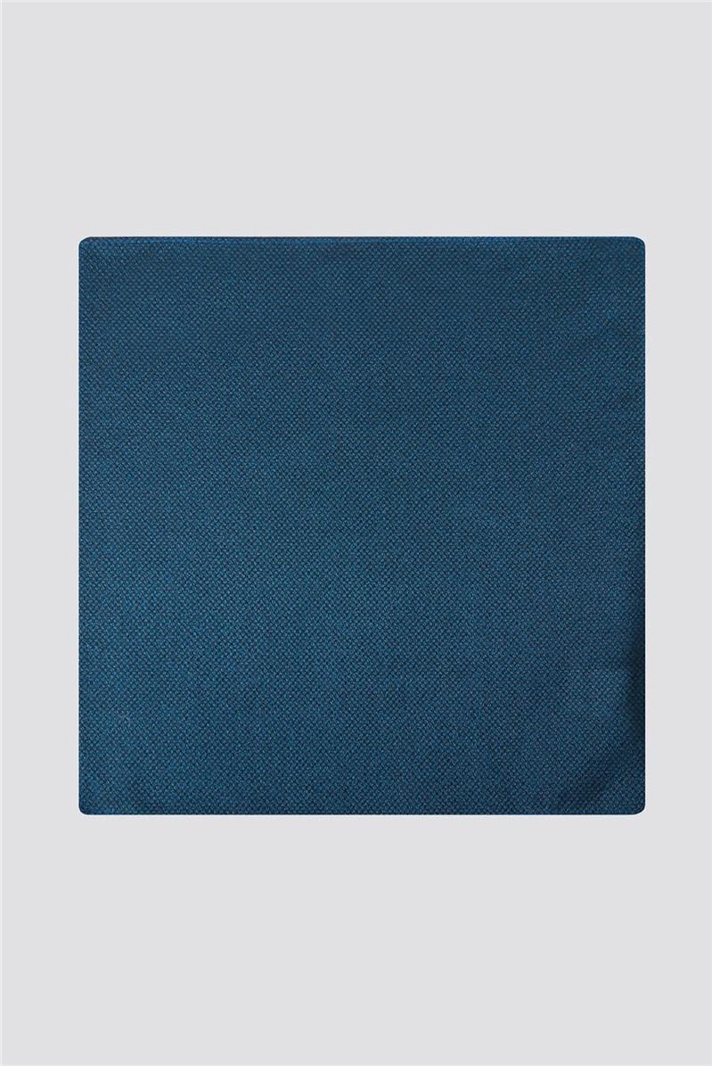 Teal Pocket Square