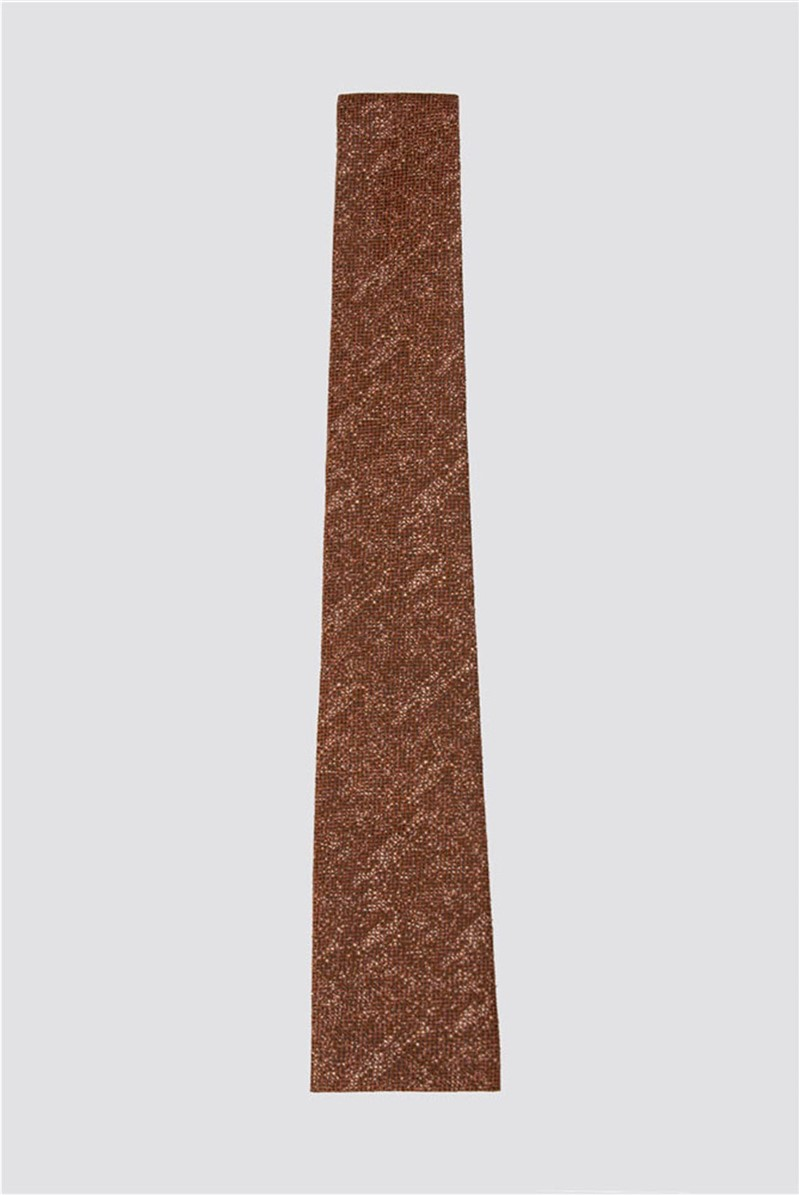 Orange Melange Tie