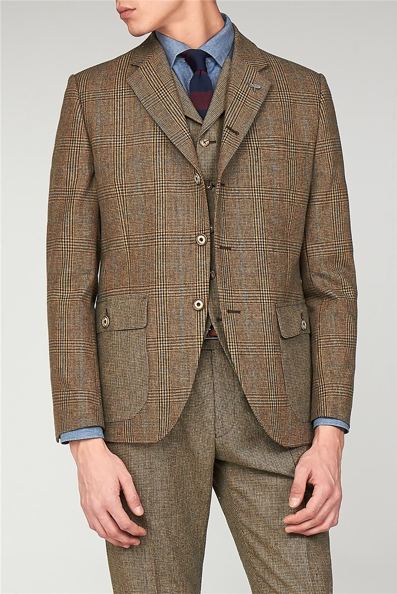 The Bakerloo Special Men's Checked Grouse Blazer