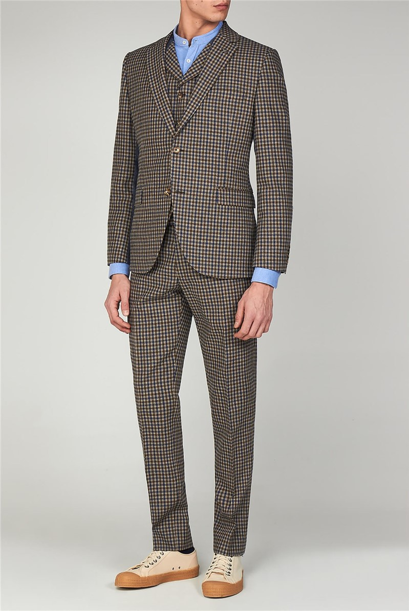 The Regent St. Men's Towergate Gingham Suit