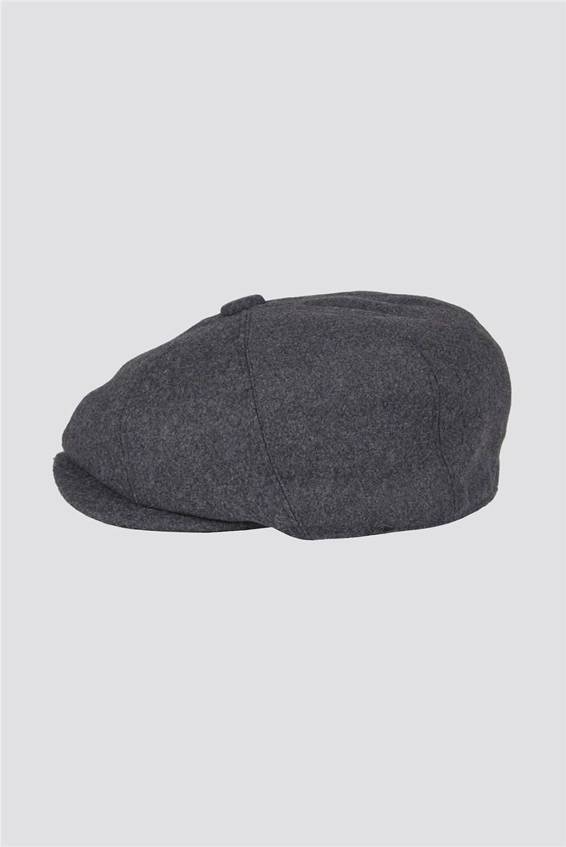Grey Melton Hat