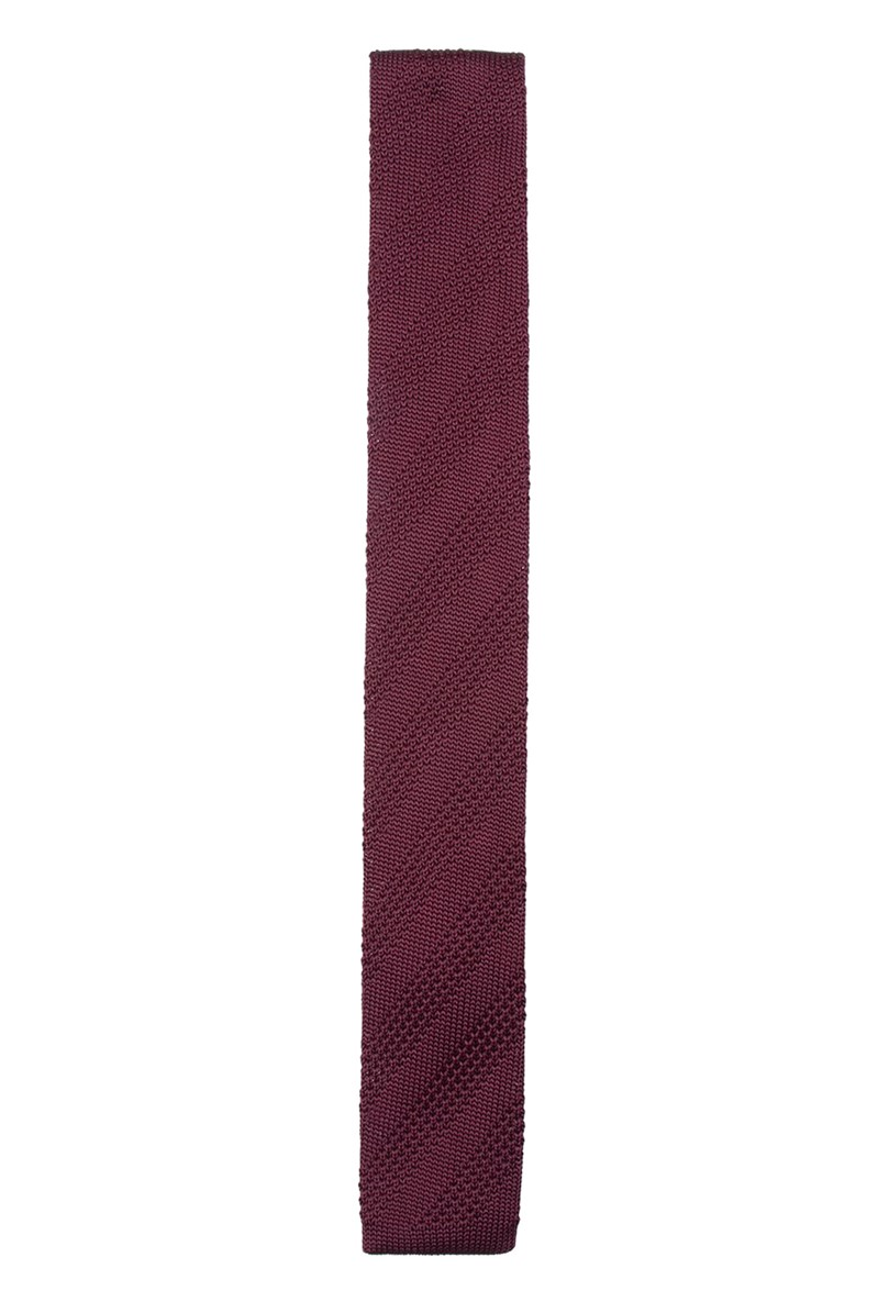 Gibson London Gibson Berry knitted Tie