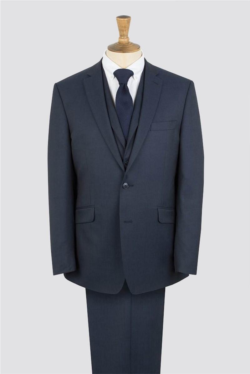 Navy Twill Suit