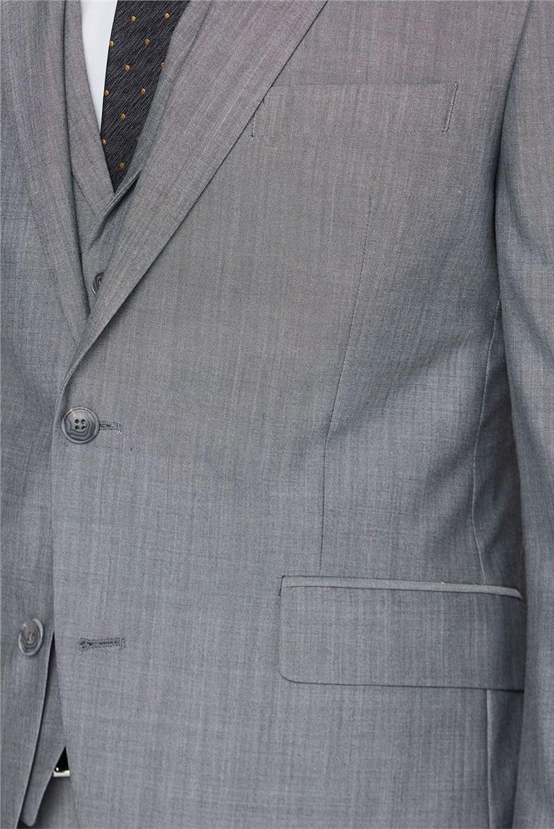 Silver Grey Slim Fit Suit