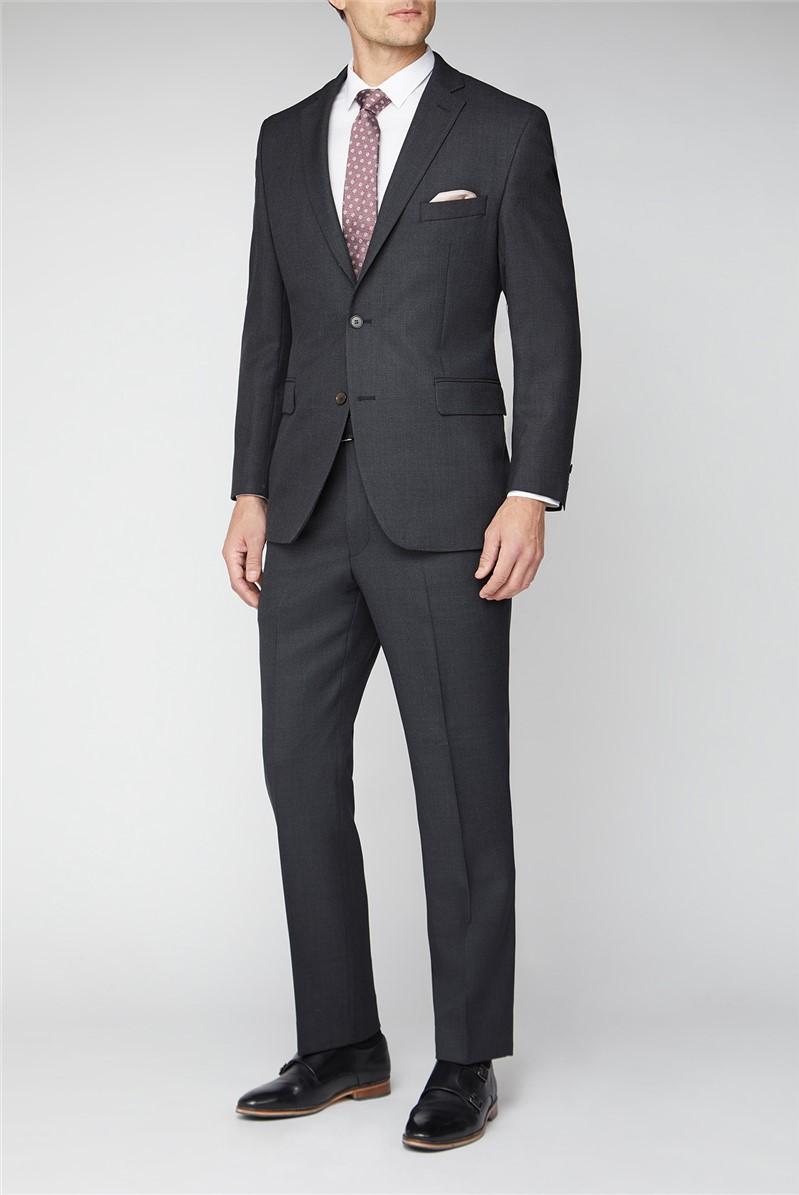 Classic Charcoal Birdseye Trouser