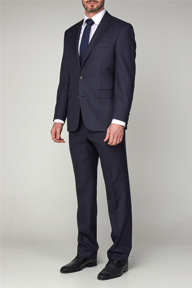 Classic Blue Birdseye Trouser