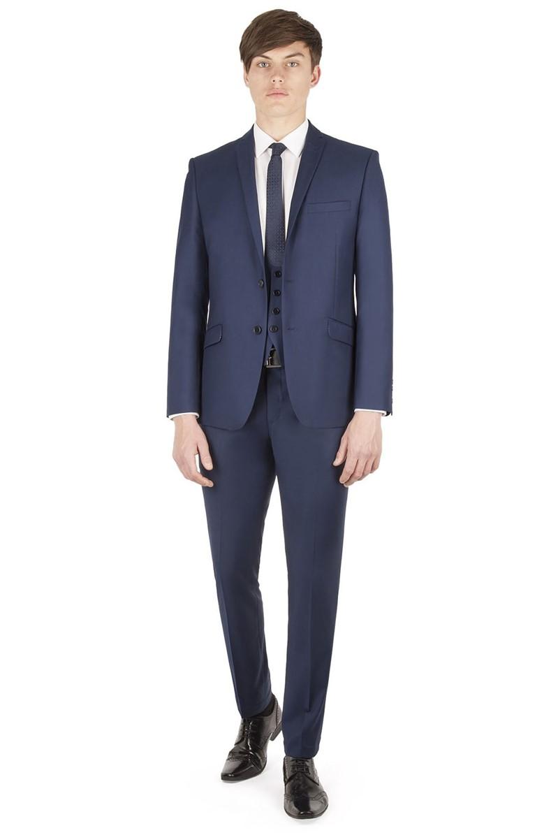 Sapphire Twill Slim Fit Suit